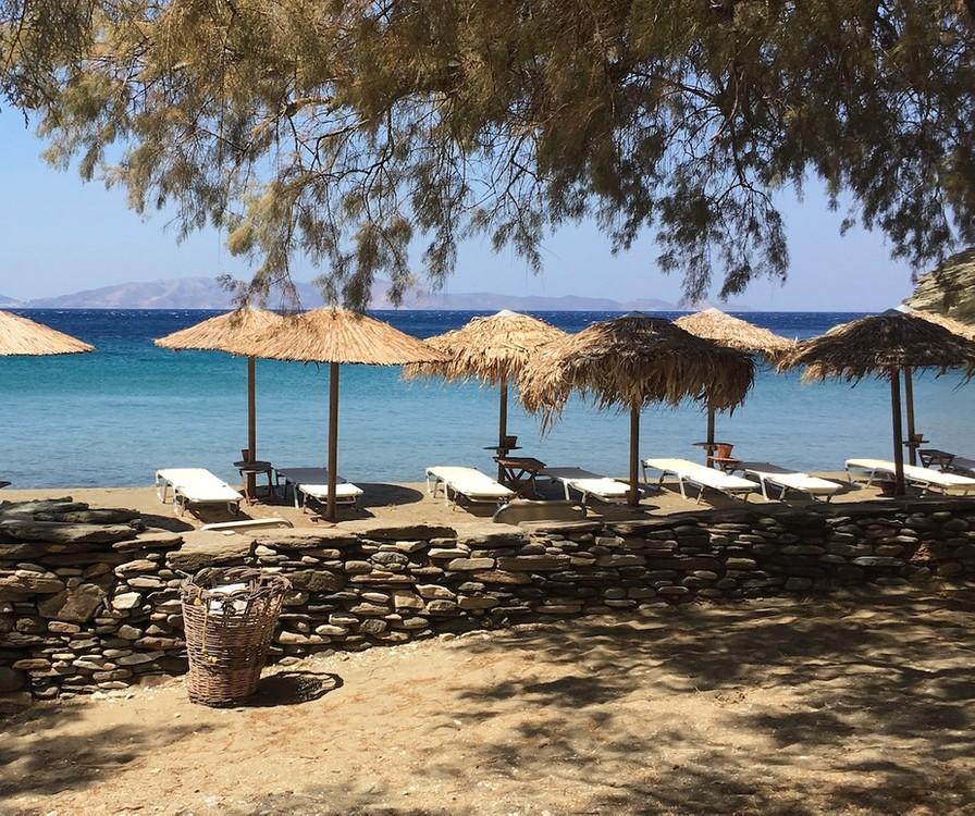 Yndlingsstranden på Tinos