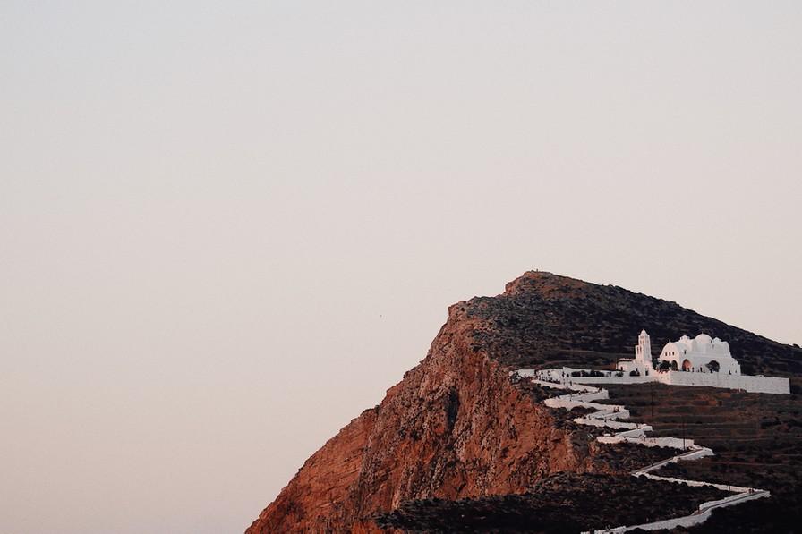 Billede af kapel på Folegandros