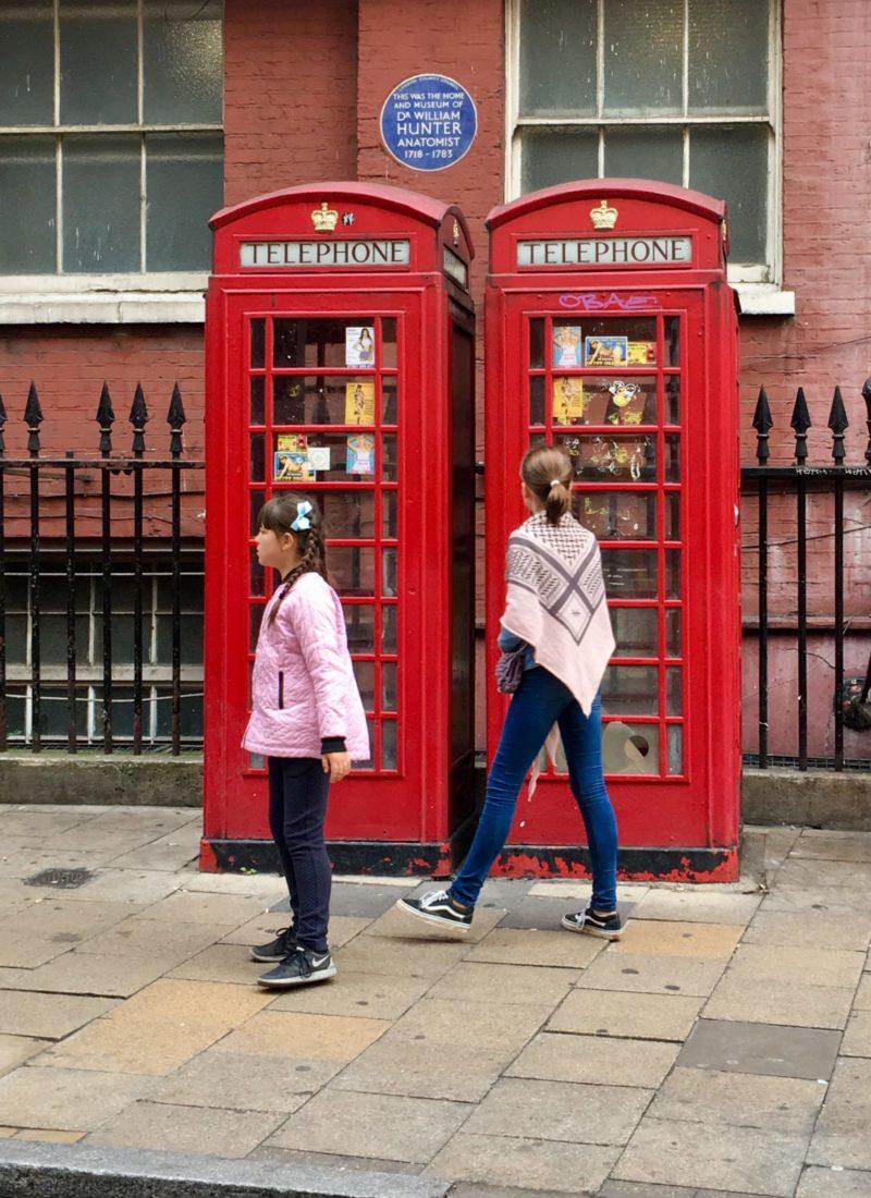 London – nu med hårmodel